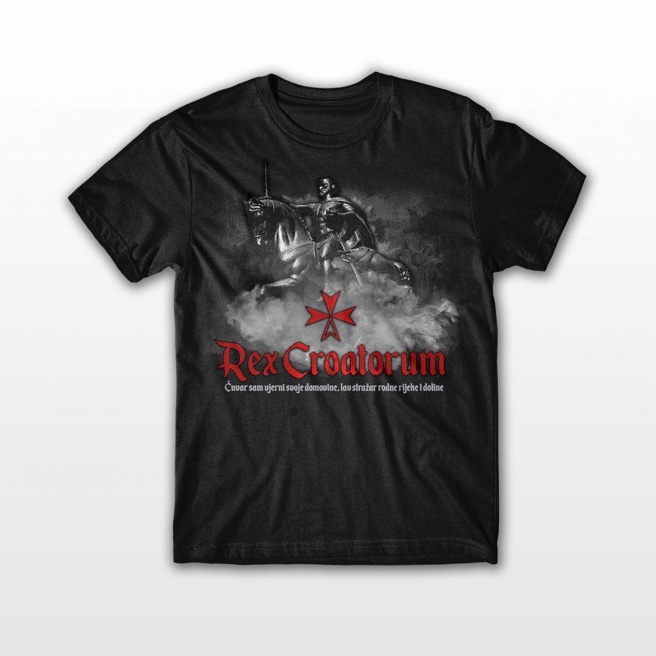 crna majica rex croatorum