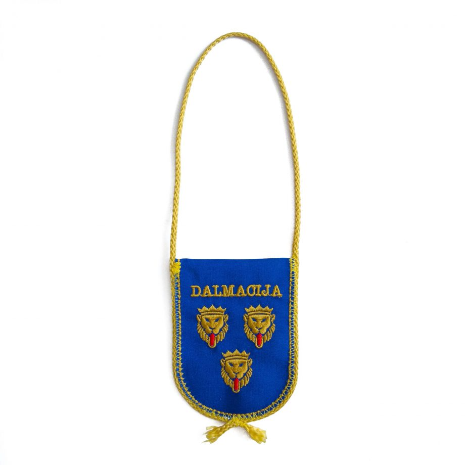 auto zastavica dalmacija
