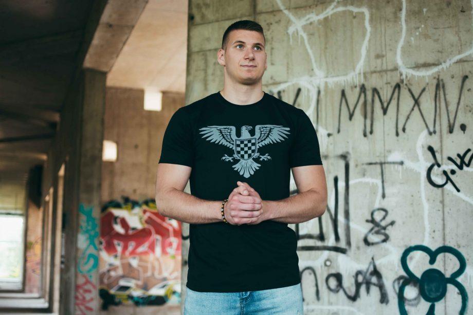 domoljubna hrvatska majica patria nostra